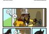 AWKWARD ZOMBIE TES-comics collab