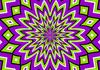 Purple And Green Illusion